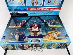 Voltron 84 Classic Playmates 16 Inch Combiner Transformable Lions Set Box Rare