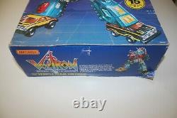 Voltron DX Dairugger XV Vehicle Team 1985 Matchbox Complet Avec Box Rare