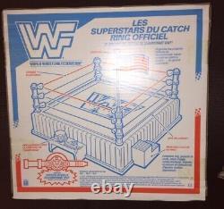 Wwf Hasbro Rare Wrestling Ring Original Nouveau Non Ouvert En Boîte Wwe Français Canadien