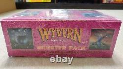 Wyvern Ringdom Scellé Booster Box Us Jeux Systems Mike Fitzgerald Gcc Rare