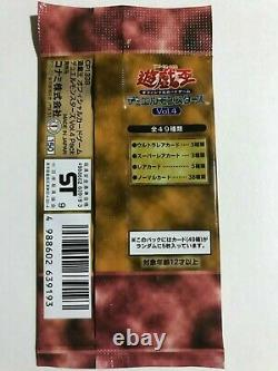 Yugioh 1999 Vol. 4 Booster Pack Seeled Japonais Non Ref Extremely Rare Extinct