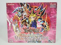 Yugioh 1er Booster Edition Magicien Force Boîte Mfc Scellé En Usine 24 Packs Rare